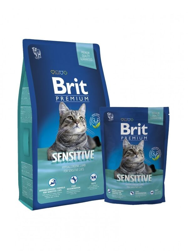 Brit Premium Cat Sensitive 1,5 кг - фото 1