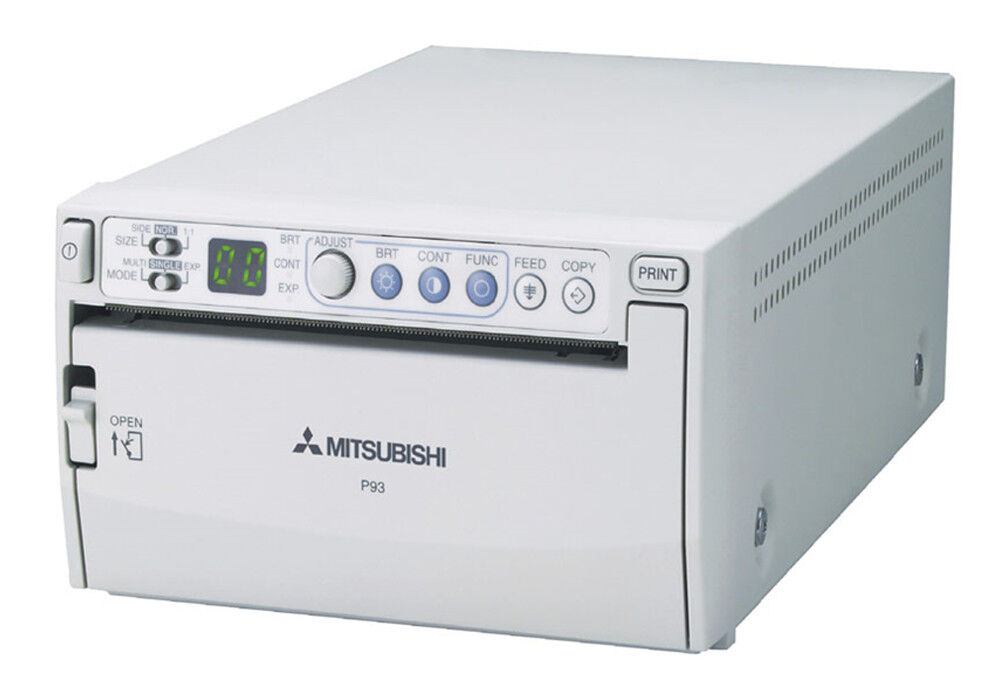 Медицинское оборудование Mitsubishi Чёрно-белый медицинский видеопринтер P93E - фото 1