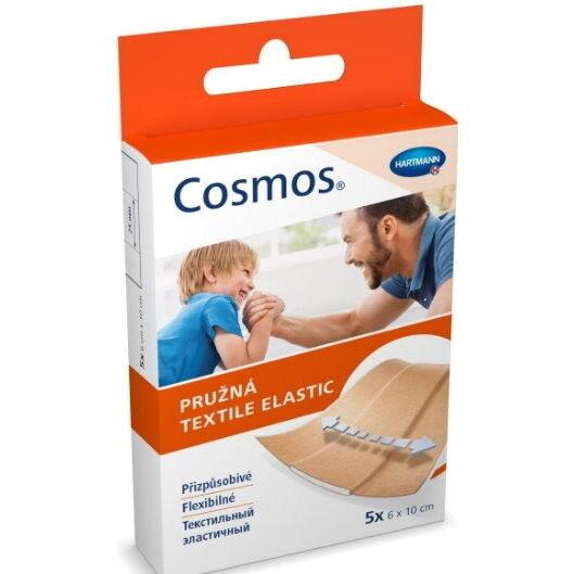 Hartmann Пластырь Cosmos Textile elastic (текстильный эластичный) - фото 1