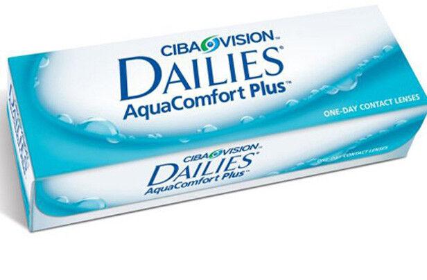 Контактные линзы CIBA Vision Dailies Aqua Comfort Plus - фото 1