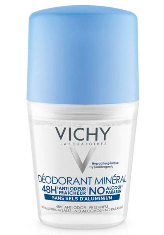 Vichy Дезодорант-шарик Deo Mineral с минералами без солей алюминия 48 часов 50 мл - фото 1