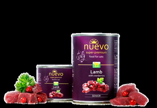 Nuevo Senior Lamb with Cranberries 200 гр. х 12 шт. - фото 1