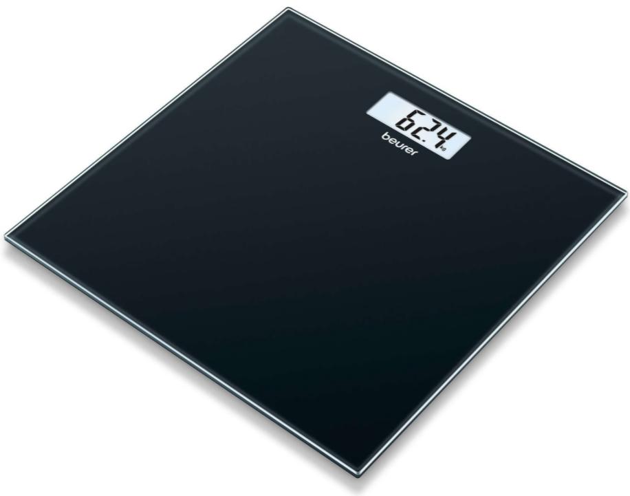 Beurer Стеклянные весы GS 10 black - фото 1