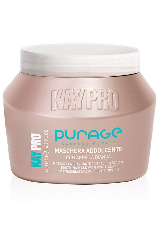 KayPro Маска с белой глиной PURAGE смягчающая 500 мл - фото 1