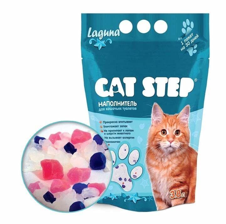 Cat Step Наполнитель Лагуна (3.8 л) - фото 1