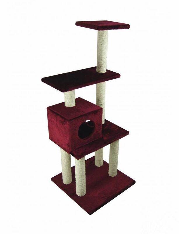 Когтеточка UrbanCat Когтеточка-домик 148 см - фото 3