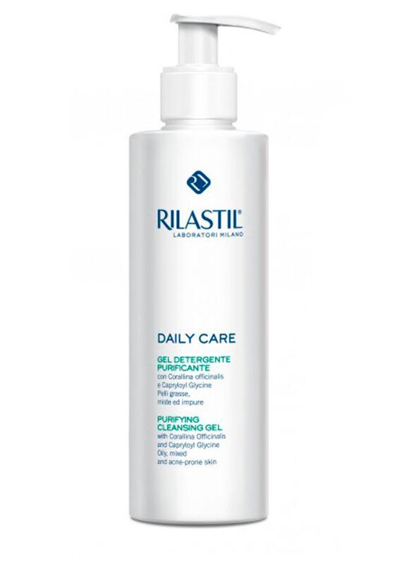 Rilastil Гель очищающий для жирной, комбинированной и склонной к акне кожи DAILY CARE, 250 мл - фото 1