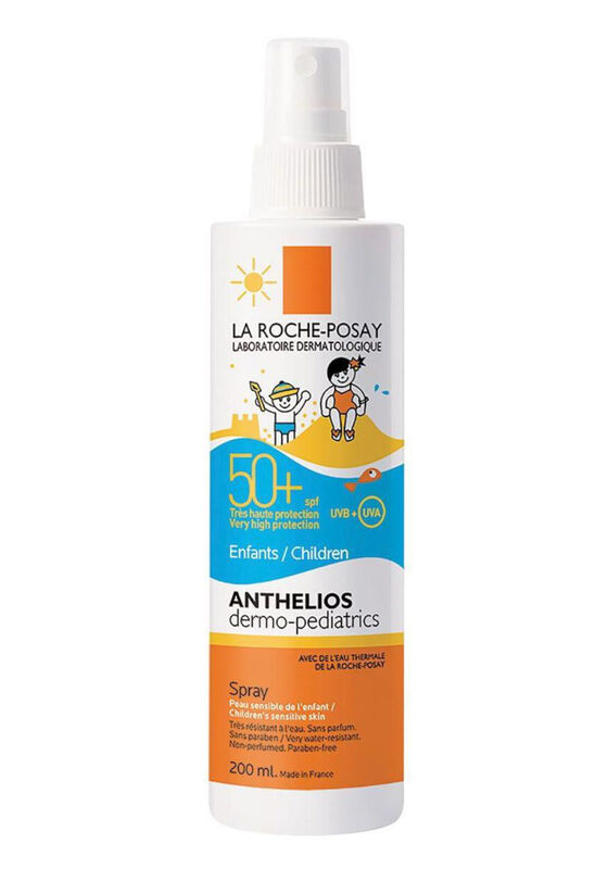 La-Roche-Posay Спрей ANTHELIOS DERMO-PEDIATRICS спрей для детей от 3-х лет SPF 50+/PPD 25 - фото 1