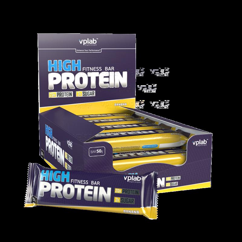 VPLab High Protein Bar, 50 гр. - фото 1