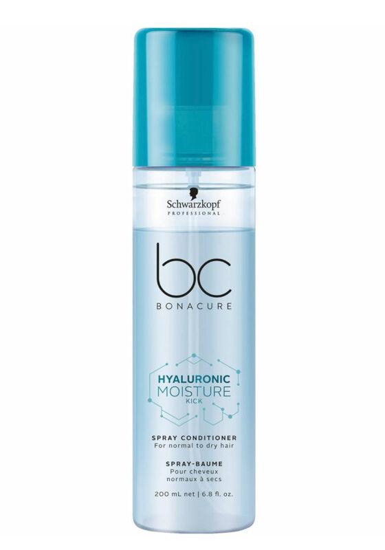 Schwarzkopf Professional Спрей-кондиционер для волос Hyaluronic Moisture Kick (Spray Conditioner For normal to dry hair), 200 мл - фото 1
