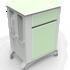 Айболит-2000 Тумба медицинская прикроватная ТМП-02.6 (ЛДСП) без столика - фото 2