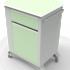 Айболит-2000 Тумба медицинская прикроватная ТМП-02.6 (ЛДСП) без столика - фото 1