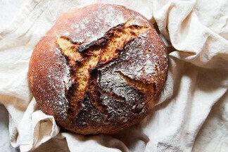 Домашний хлеб: печем цельнозерновую буханку самостоятельно